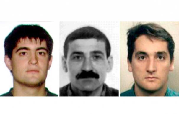 Beinat Aguinagalde Ugartemendia; Gregorio Jiménez Morales; e Ibon Gogeascoechea Arronategui - EFE
