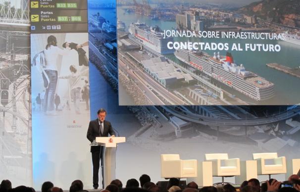 Rajoy anuncia una inversión de 4.200 millones en infraestructuras de Cataluña esta Legislatura
