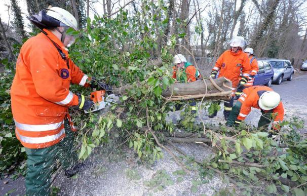 El temporal Xynthia causa las dos primeras víctimas mortales en Alemania