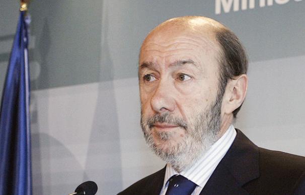 """Rubalcaba: """"Los últimos meses han sido los peores en la historia de ETA"""" - EFE"""