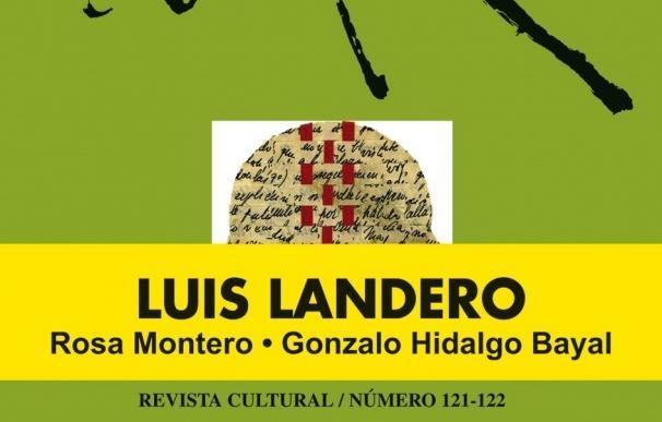 La revista 'Turia' se presenta en Badajoz, con Luis Landero como protagonista
