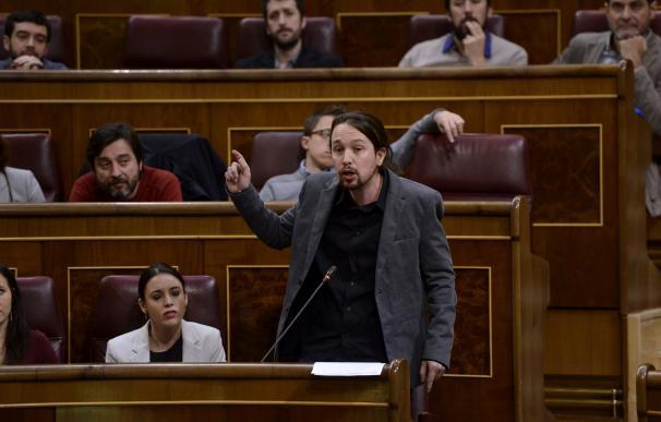 Pablo Iglesias acusa a la presidenta del Congreso de romper su neutralidad por actuar al dictado de PP