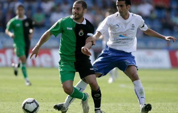 """El jugador del Tenerife Ricardo León dice que aunque el rival logró el objetivo """"no saldrá relajado"""""""