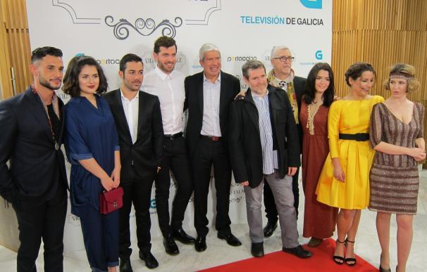 Santiago acoge el preestreno de 'Vidago Palace', la primera ficción coproducida por la CRTVG y la RTP portuguesa