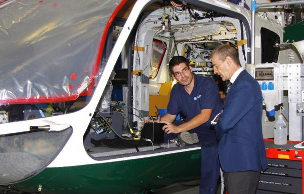 Eurocopter España basa en la exportación su futuro a medio plazo