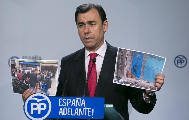 Aguirre critica a Ahora Madrid y PSOE por no unirse a declaración de condena por la irrupción de CUP en PP catalán