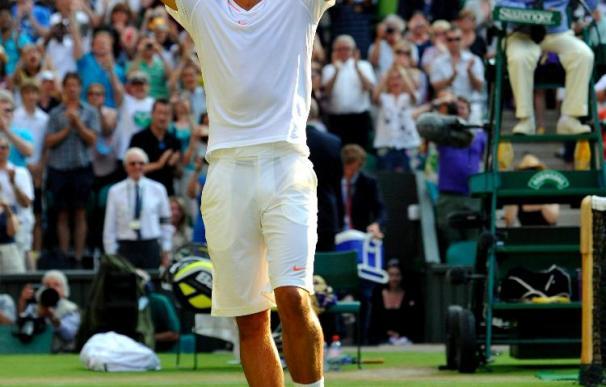 Sólo Nadal y Ferrer escapan a la debacle española en el ecuador de Wimbledon