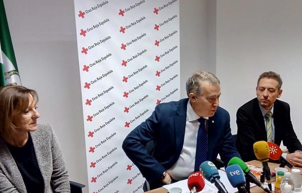 Aumentan a 736.000 los atendidos por Cruz Roja en Andalucía en 2016, más de 100.000 por extrema vulnerabilidad