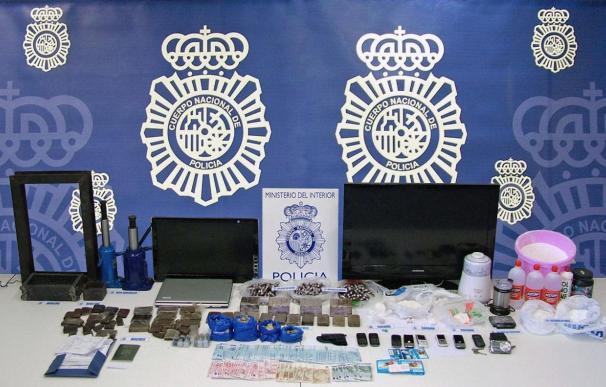 Desarticulada una red de tráfico de drogas con seis detenidos en Guipúzcoa