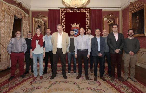 Los alcaldes de los mayores ayuntamientos de Navarra instan al Gobierno central a derogar la Ley de Estabilidad