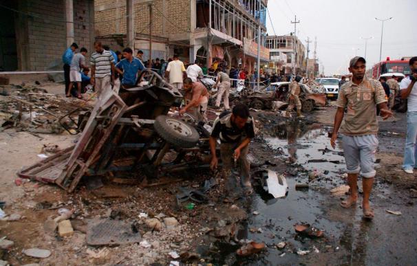 Siete muertos y 37 heridos en dos ataques en las últimas 24 horas en Bagdad