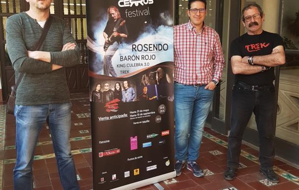 Los Cerros Sound Festival acoge en su cartel las actuaciones de Rosendo, Barón Rojo y Trek y King Culebra 3.0