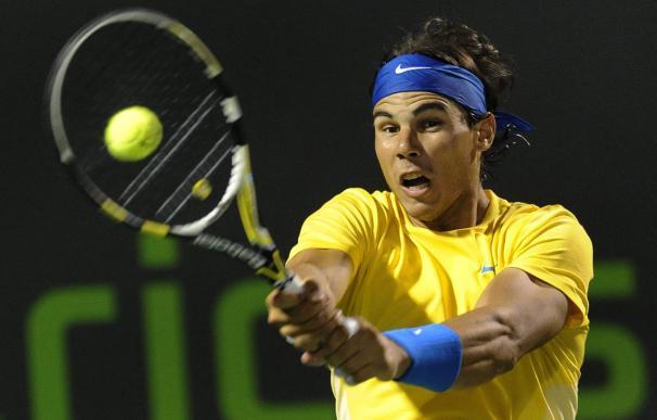 Rafael Nadal a tercera ronda tras superar al estadounidense Dent