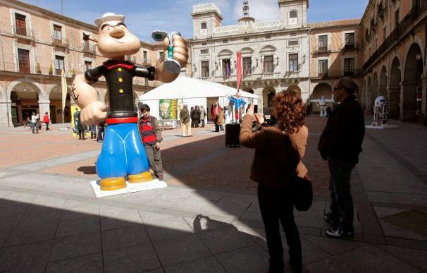 Ávila reúne personajes del cómic en un encuentro centrado en el humor gráfico y la sátira