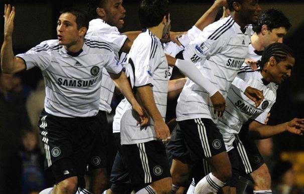 El Chelsea se coloca segundo a un punto del United