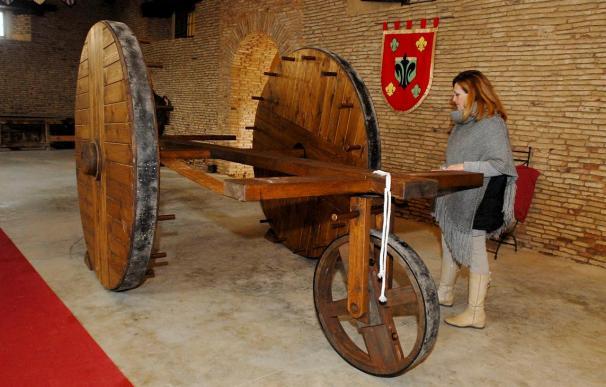 La mayor carraca del mundo sonará esta Semana Santa en Sahagún (León)