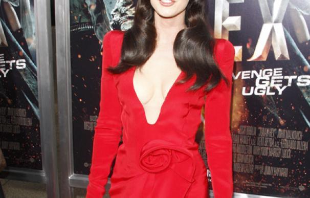 Megan Fox es feliz cuando gana peso