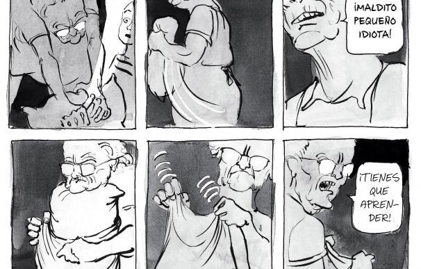 """David Small dibuja su infancia en """"Stitches"""", una historia traumática y muda"""