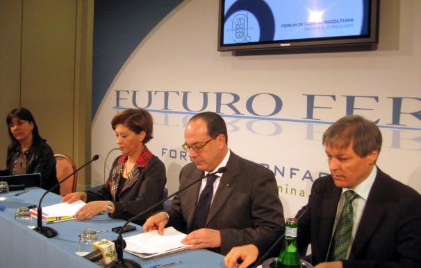 Espinosa destacó que la política agraria común ha logrado mejores alimentos