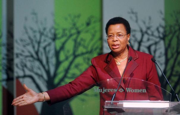 Graça Machel reclama una mayor participación en la remodelación financiera