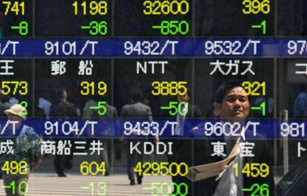 El Nikkei sube el 1,22 por ciento hasta los 9.639,72 puntos