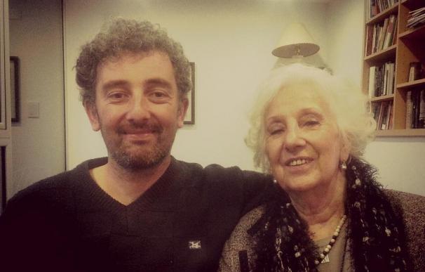 El nieto de Estela de Carlotto difunde una foto junto a su abuela