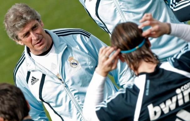 """Los """"tocados"""" hacen que Pellegrini ofrezca la convocatoria del Real Madrid el día del partido"""