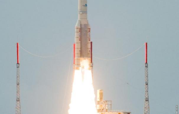 Aplazado en el último momento el lanzamiento de un cohete Ariane