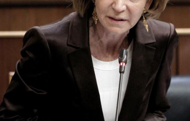 Salgado dice que el Gobierno ha abordado la crisis con posición de izquierdas
