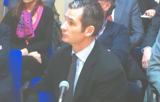 Urdangarin asegura no ser conocedor de las facturas relacionadas con el Valencia Summit