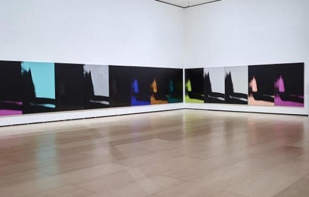'Sombras' de Andy Warhol, en el Museo Guggenheim Bilbao a partir de este viernes
