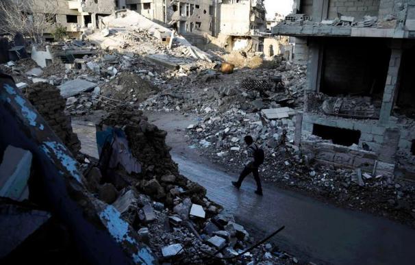 Cinco años de guerra en Siria / AFP