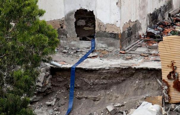 La Policía cree que esta mañana se podrán sacar los huesos del pozo de Gran Canaria