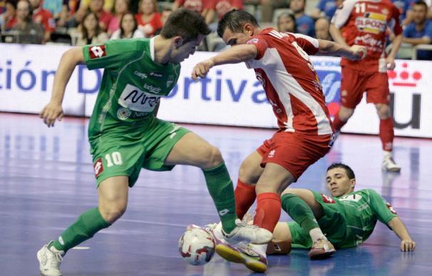 3-2. ElPozo Murcia se adelanta en la final ante el MRA Navarra