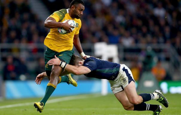 Australia venció por la mínima (35-34) a Escocia y será el rival de Argentina en semifinales / Getty Images