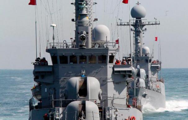 Corea del Sur efectúa ejercicios anti-submarinos en el Mar Amarillo