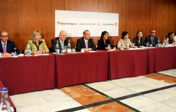 Caja Tarragona, Catalunya y Manresa aprueban el plan de fusión definitivo