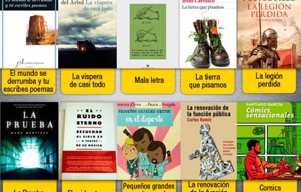 Nuestra selección de libros para disfrutar el mes de marzo