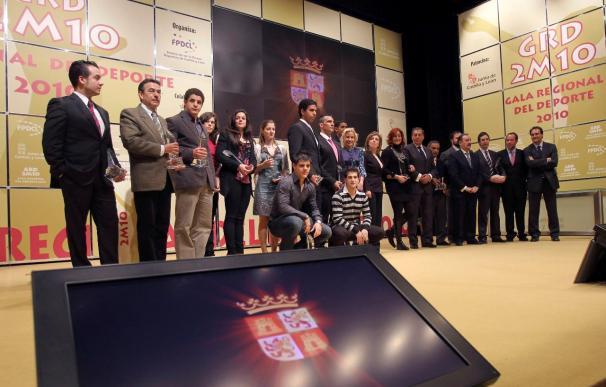 Castilla y León premia a los mejores deportistas, 6 campeones del mundo o europeos
