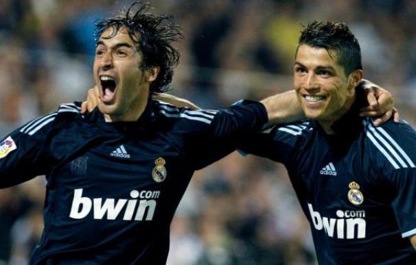 Raúl anotó su último gol con el Madrid en el lugar donde debutó.