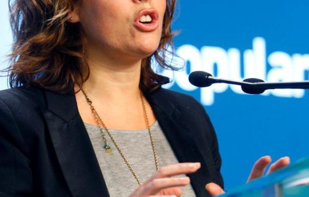 Saénz de Santamaría dice que el crédito del Gobierno quedó triturado en la presidencia de la UE