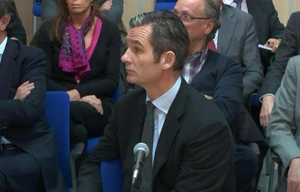 Iñaki Urdangarin declara después de que lo hiciera su ex socio, Diego Torres