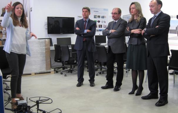 """Lambán destaca que ITAINNOVA es """"el instrumento más potente"""" para impulsar la innovación en las empresas"""