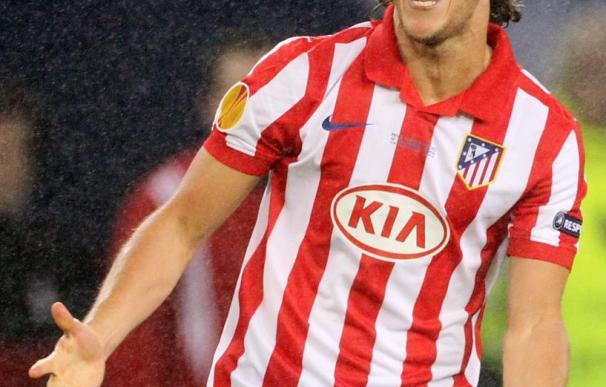 2-1. Forlán devuelve al Atlético a la cima europea en la prórroga