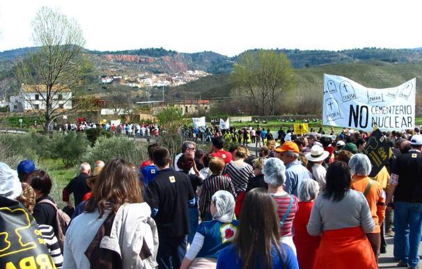 Comienzan una marcha desde Zarra a Albacete contra la instalación del ATC