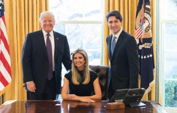 Ivanka Trump ya tiene su propio despacho en la Casa Blanca