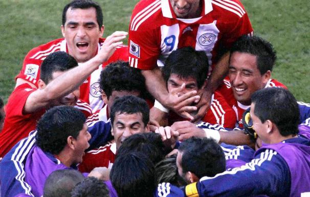 0-2. Paraguay supera a Eslovaquia y acaricia los octavos