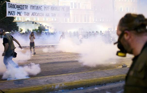 Al menos seis heridos en los enfrentamientos en Grecia