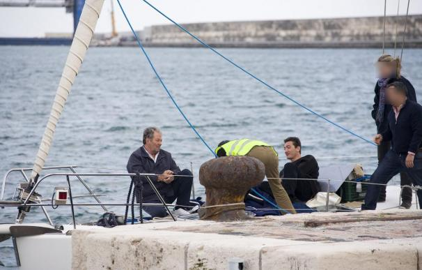 Intervienen 1.500 kilos de hachís en un velero en Granada