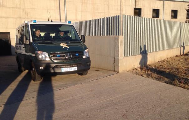 La Policía Científica ha participado en el registro de la casa de Morate